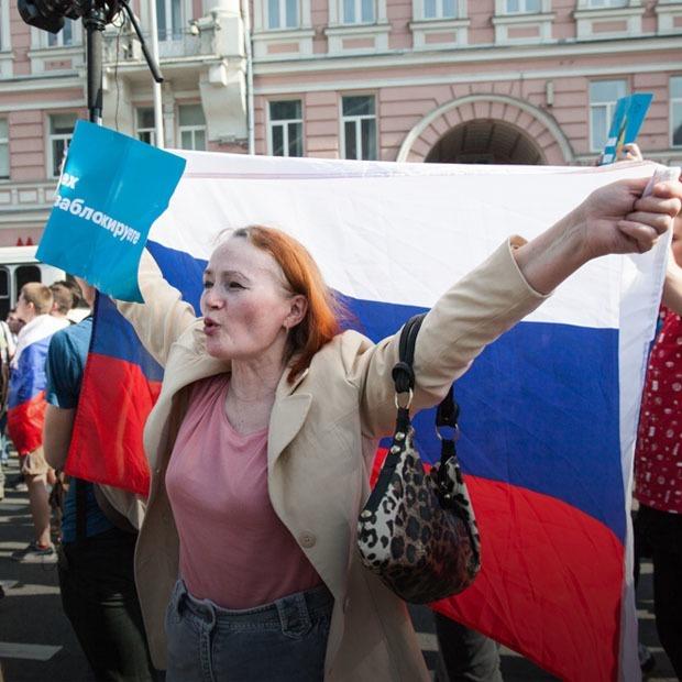 «Он нам не царь»: Эксклюзивный репортаж с митингов в Москвe — Ситуация на The Village Казахстан