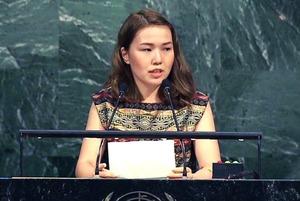Как я произнесла речь с трибуны Генеральной Ассамблеи ООН