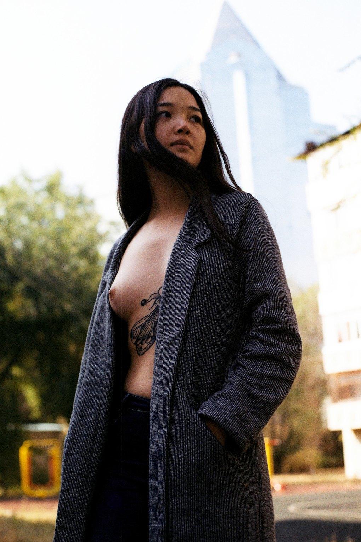 Порно фото девушек казахстан — 7