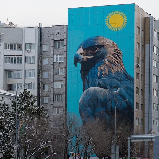 Граффити и муралы Астаны: Кто и как их делает — Гид The Village на The Village Казахстан