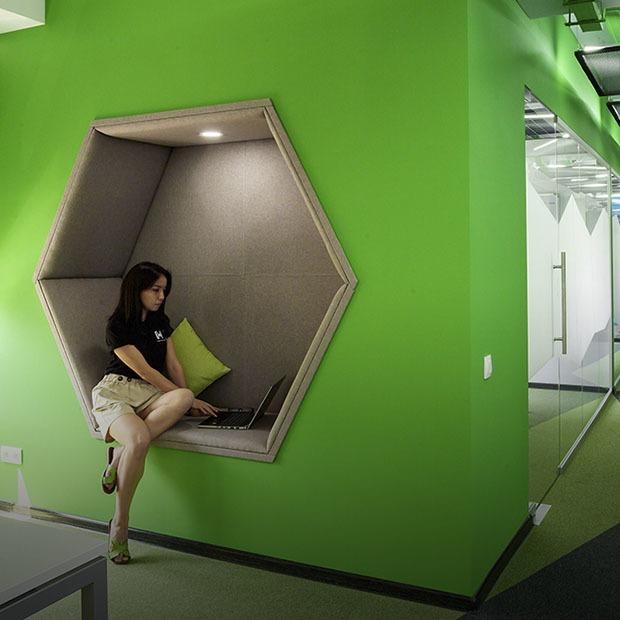 Как выглядит офис Kolesa Group — Офис на The Village Казахстан