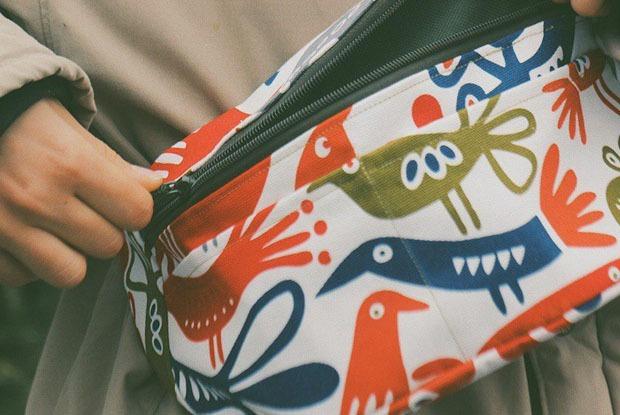 Поясная сумка ручной работы от Bangata