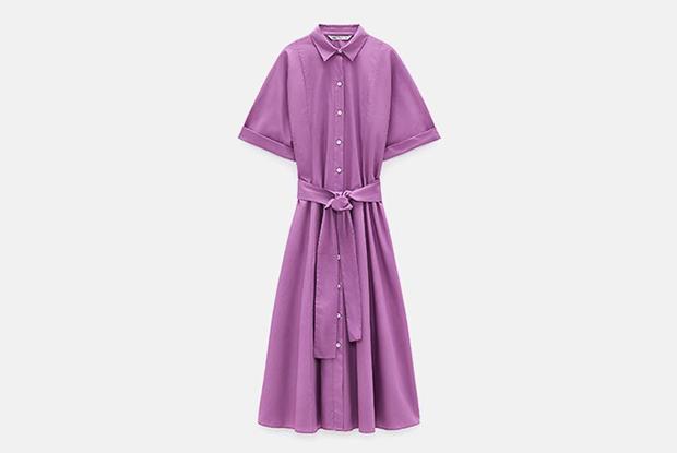 13 летних платьев на пуговицах: мини, миди и винтаж — Гид The Village на The Village Казахстан