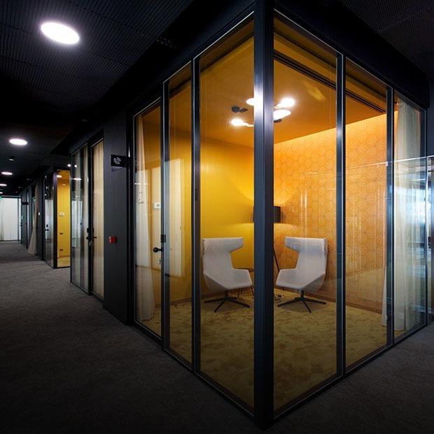 Как выглядит офис Level 8?