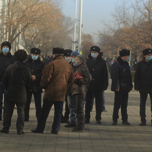 Диалоги с бойцами СОБР: «Я выполняю приказ»