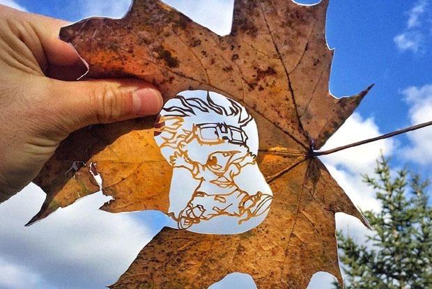 Я делал иллюстрации на листьях для Nickelodeon — Личный опыт на The Village Казахстан