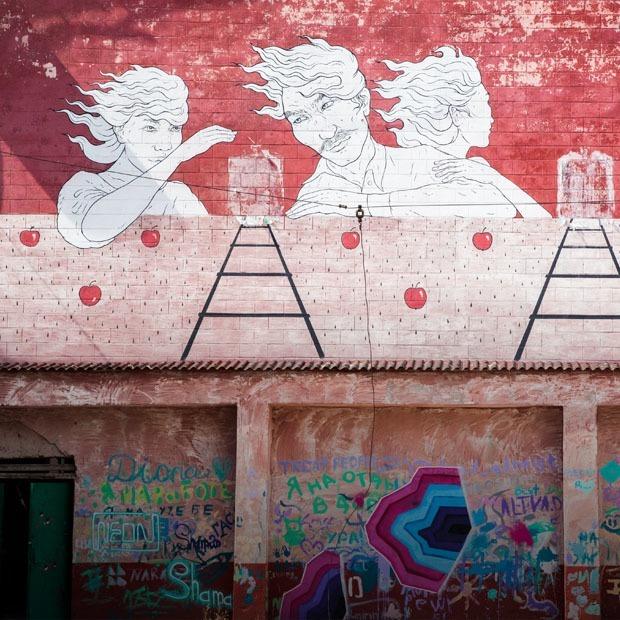 Граффити и муралы Алматы — Гид The Village на The Village Казахстан