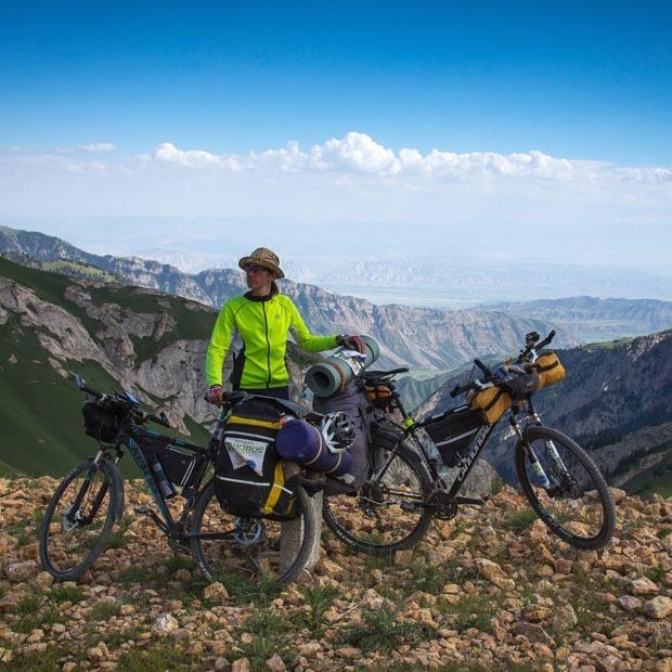 Алматинские велопутешественники