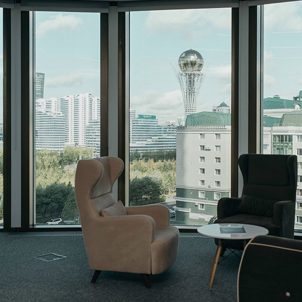 Как выглядит офис Beeline Казахстан — Офис на The Village Казахстан