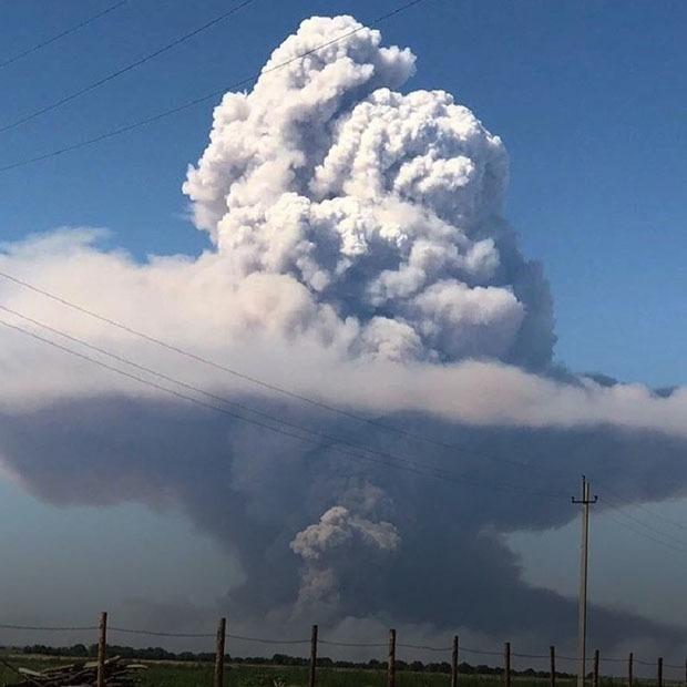 Немирное небо: Хронология взрывов боеприпасов в Казахстане — Ситуация на The Village Казахстан