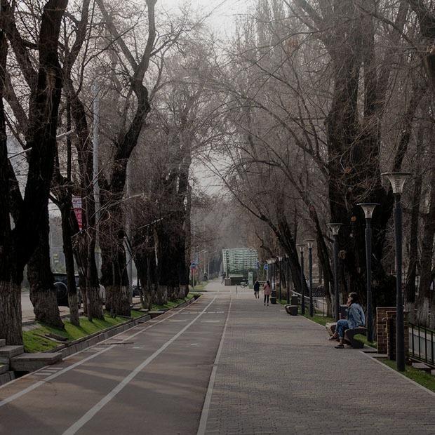 Как выглядит Алматы на карантине
