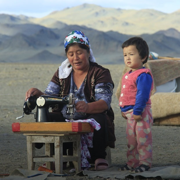 Ең тұнық өнер фотографиядағы бүгінгі қазақ ауылының бейнесі