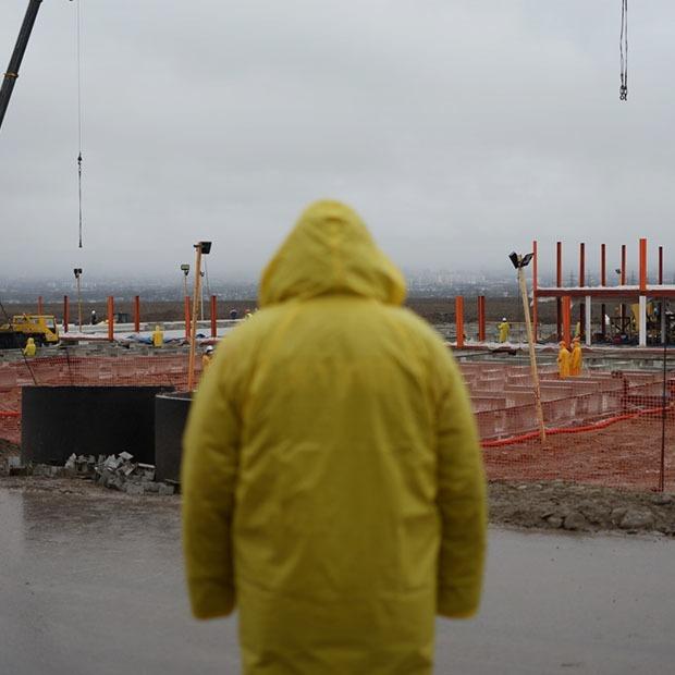 Успеть за 15 дней: Как строят госпиталь в Алматы — Фоторепортаж на The Village Казахстан