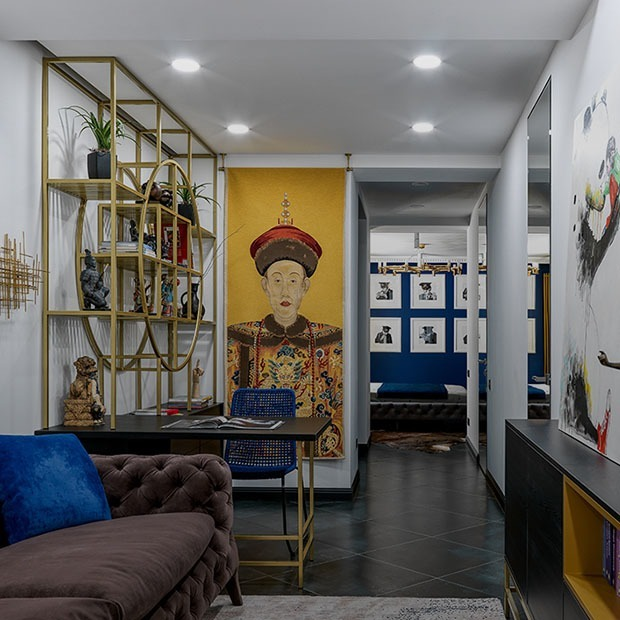 Черепа, розовые стены и жуки в туалете: Эклектичный интерьер в Алматы