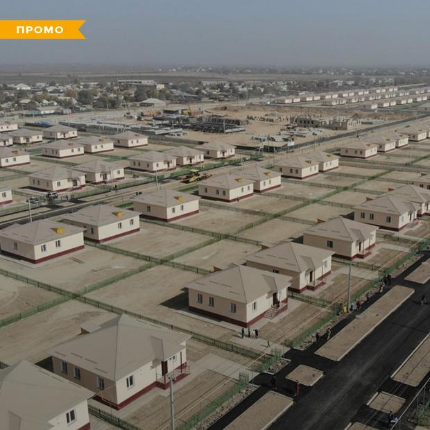 Как выглядят новые дома жителей, пострадавших от наводнения — Истории на The Village Казахстан