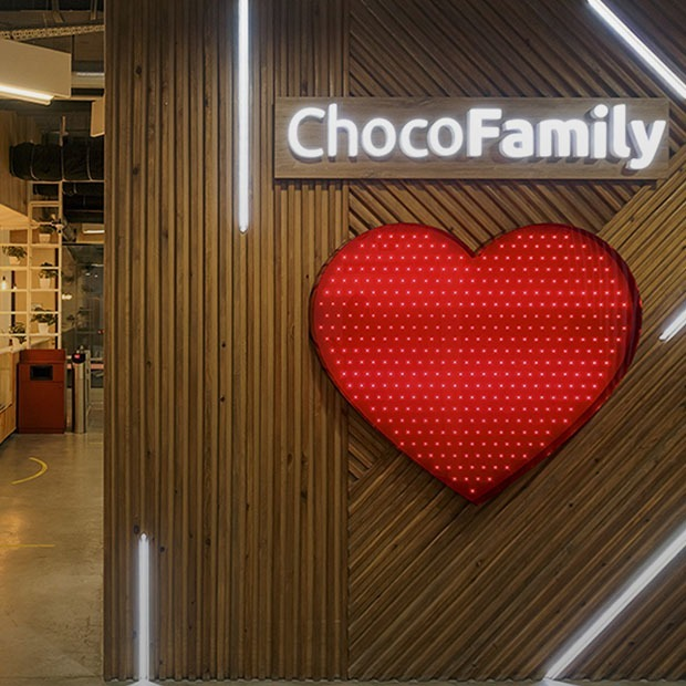 Как выглядит офис ChocoFamily — Офис на The Village Казахстан