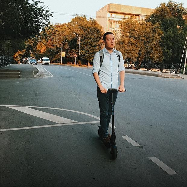 Как я пересел на электрический самокат  — Эксперимент на The Village Казахстан