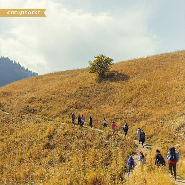 По тропам счастья: Кто и зачем облагораживает маршруты Заилийского Алатау — Спецпроекты на The Village Казахстан