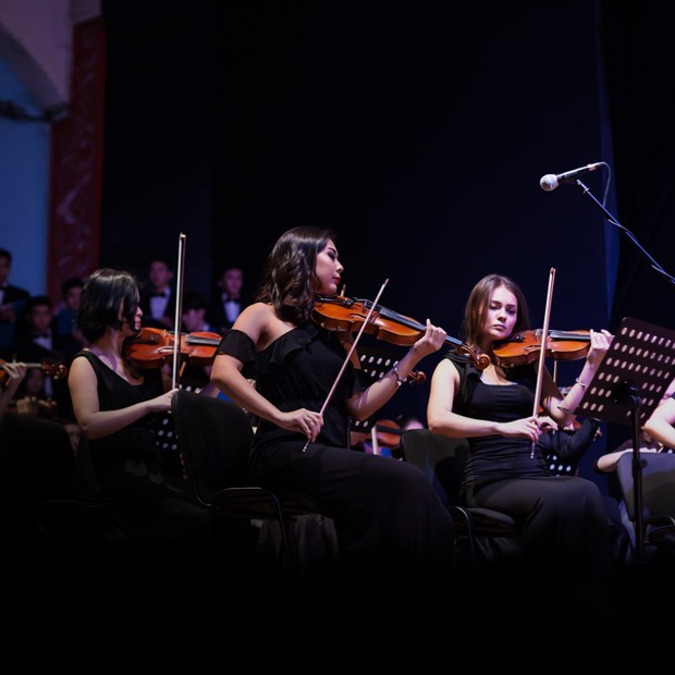 Ne prosto orchestra: «Мы первый оркестр в Казахстане, который исполняет музыку из фильмов»  — Новая музыка  на The Village Казахстан