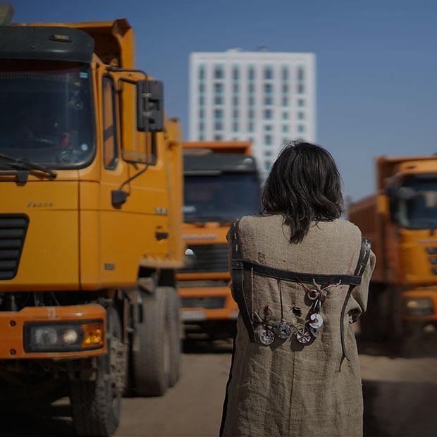 Шаманы и кобыз: Как прошел перформанс в защиту Малого Талдыколя — Ситуация на The Village Казахстан