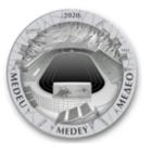 Появились монеты с изображением катка «Медеу»