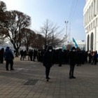 Замакима Алматы: «Это не Конституция, а анархия». Чиновник приехал на митинг