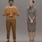 Samsung разработали проект виртуального человека