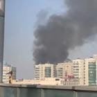 Пожар произошел возле ЖК «Жастар» в Алматы