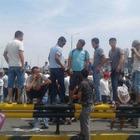 В Шымкенте протестуют эвакуированные из Арыса