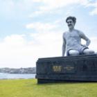 Статую Бората установили в Австралии