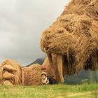 Схожие с алматинской белкой скульптуры ежегодно создают в Японии