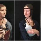 Дама с антисептиком и Мадонна: В интернете воссоздают известные картины из подручных средств