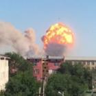 Взрыв боеприпасов: Жители покидают Арысь