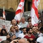 Протестующие в Грузии штурмовали здание парламента