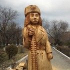 В Семее установили памятник Маншук Маметовой, но местные путают его с Бабой Ягой