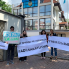 Акции в поддержку активистов прошли в Канаде и Венгрии