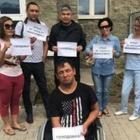 Жители Алатауского района в Алматы объявили голодовку