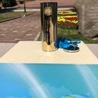 Назарбаев заложил капсулу времени рядом с КБТУ в Алматы