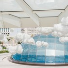 На площади Алмалы установили инсталляцию, посвященную грязному воздуху