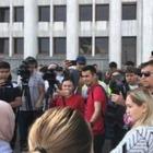 Двух участников митинга против китайской экспансии в Казахстане задержали в Алматы