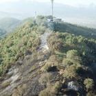 Появились фотографии Кок-Тобе после пожара