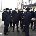 Утром в Алматы перекрывали дороги: В город приехал премьер Аскар Мамин