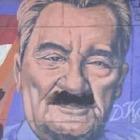 Неизвестные испортили граффити с Кунаевым в Алматы