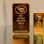 Золотые слитки будут продавать в обменниках Алматы