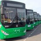 В Алматы по пяти городским маршрутам количество автобусов увеличили до 100 %