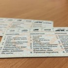 Отпечатки пальцев появятся на водительских правах и техпаспорте