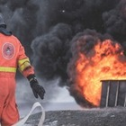 ЖК «Бухар Жырау Тауэрс» горел в Алматы