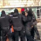 Активистов удерживают рядом с площадью. Среди задержанных Айсана Ашим, гендир The Village Казахстан