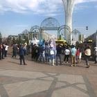В центре столицы прошел митинг против вакцинации детей