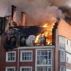 Названа причина пожара в жилом комплексе «Британский квартал»